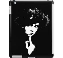 Clara Bow Fixes Her Chin iPad Case/Skin