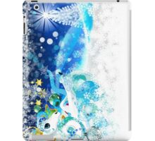 New year card with horse iPad Case/Skin