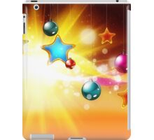 Orange Christmas card iPad Case/Skin