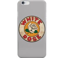 White Rose Oil And Gas iPhone Case/Skin