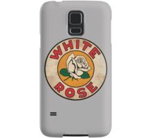 White Rose Oil And Gas Samsung Galaxy Case/Skin