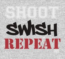 Shoot, Swish, Repeat Kids Clothes