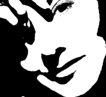 Barbara Stanwyck Plans A Trap Sticker