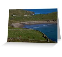 Traloar Beach, Muckross Head, Donegal Greeting Card