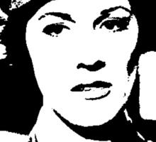 Julie Andrews In Uniform Sticker