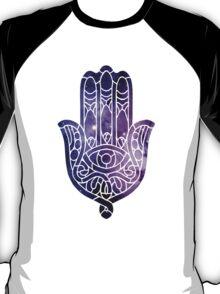 Galaxy Hamsa T-Shirt