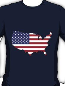 America Map T-Shirt
