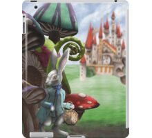 Rabbit in the Wonderland Toadstool Forest iPad Case/Skin