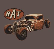 RAT - Side Pipes Kids Clothes