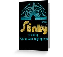 Slinky Greeting Card