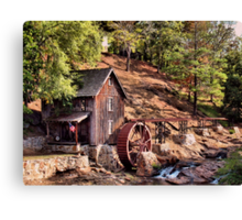 Gresham Mill in October... products Canvas Print