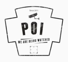 Person of Interest - We are being watched STICKER by CyberWingman