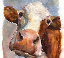 Melancholy Cow by Louise Fletcher