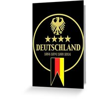 Deutschland Champions Greeting Card