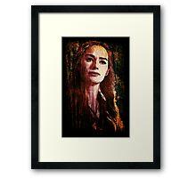 Cersei Framed Print