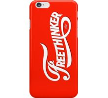 FreeThinker Vintage by Tai's Tees iPhone Case/Skin