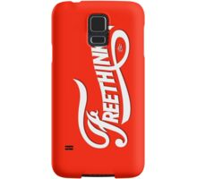 FreeThinker Vintage by Tai's Tees Samsung Galaxy Case/Skin