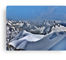 Mont Blanc. Canvas Print