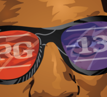 PG-13  Sticker