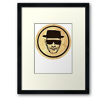 Breaking Bad Walter Coasters retro style image Framed Print