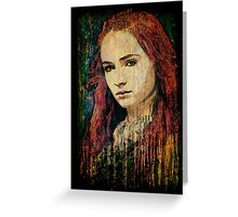 Sansa Stark Greeting Card