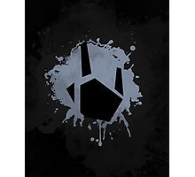 Prime Freeze Beam (Splatter Black) Photographic Print