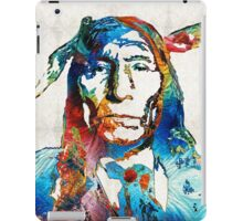 Native American Art - Warrior - By Sharon Cummings iPad Case/Skin