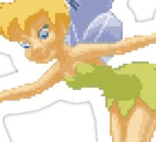 Tinkerbell in Pixel Art Sticker