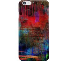 Live in an abstract city iPhone Case/Skin