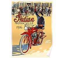 Indian Motocycles Poster Poster