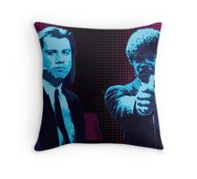 Vincent and Jules - Pulp Fiction (Variant 1 of 2) Throw Pillow