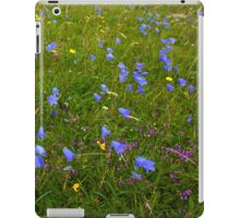A sea of Harebells, Rossbeg, Co Donegal iPad Case/Skin