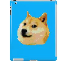 8-bit Doge Head iPad Case/Skin