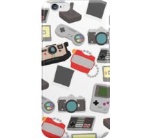 In with the old, nostalgic technology iPhone Case/Skin