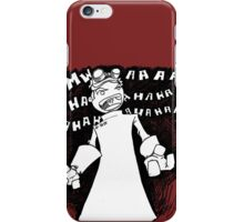 Doctor Horrible - Non Transparent Evil Laugh iPhone Case/Skin