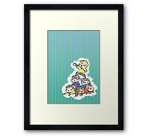 An entire space crew! Framed Print