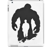 The Incredible Hulk silhouette iPad Case/Skin