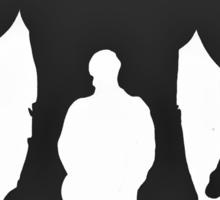 The Incredible Hulk silhouette Sticker