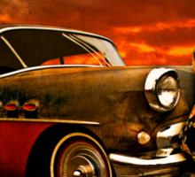 53 Buick Special Outside Gantt's Garage Sticker