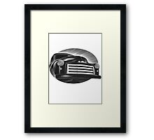 GMC Front Zoom Framed Print