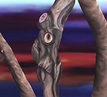 Run From The Grumpy Tree by Brinjen