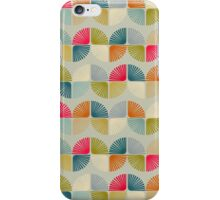 Retro abstract pateern. iPhone Case/Skin