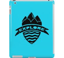 Go Explore iPad Case/Skin