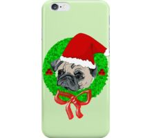 Christmas Pug iPhone Case/Skin