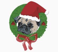 Christmas Pug Kids Clothes