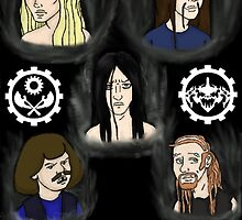 The Metalocalypse by AMBArts