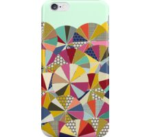 geo brolly mint iPhone Case/Skin