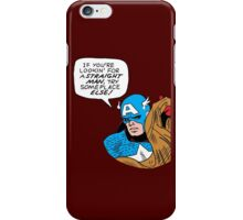 You tell 'em, Cap iPhone Case/Skin