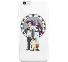 Team Rocket Nouveau iPhone Case/Skin
