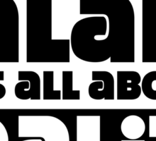 It's not about a salary it's all about reality Sticker